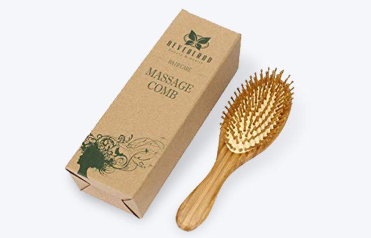 Hair Brush Packaging Boxes