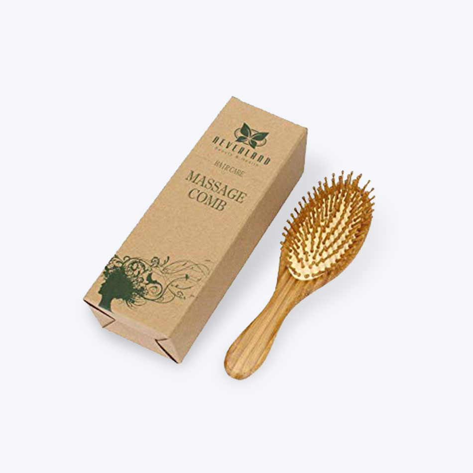 Hair Brush Packaging Boxes